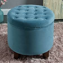 Kinfine Storage Ottoman Kinfine Large Button Tufted Storage Ottoman K6171 B122