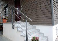 gelã nder treppe außentreppe geländer edelstahl treppe ohne gelã nder dprmodels