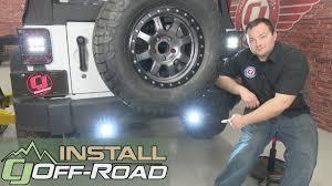 jeep wrangler backup lights jeep wrangler jk kc hilites led backup light kit c series clear 2007
