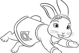 peter rabbit lily coloring pages sketch coloring