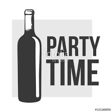 red wine bottle sketch style vector invitation banner poster