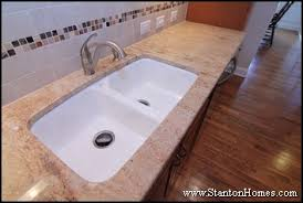 Styles Of Kitchen Sinks by How To Choose A Kitchen Sink Custom Home Kitchen Design