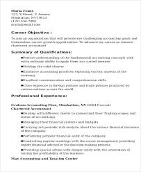 chartered accountant resume 20 accountant resume examples free u0026 premium templates