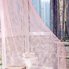 online shop flower sheer curtain tulle window treatment voile