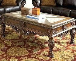 ashley furniture glass top coffee table ashley furniture coffee table set furniture glass top coffee table