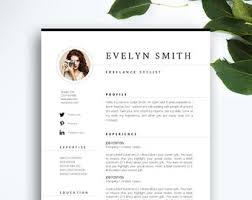modern resume u0026 cover letter template editable word by profiliacv