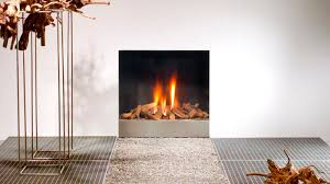 gas fireplace contemporary open hearth built in spectra