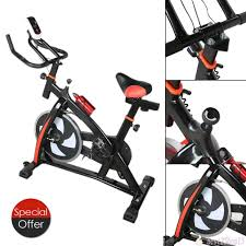 amazon com fitness exercise bicycle indoor bike cycling speed
