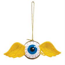 flying eyeball opening ornament kustomize your tree