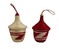 fair trade peace basket ornament set rwanda u2013 global handmade