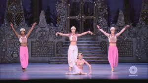 royal opera ballet the nutcracker coffee arabian dance