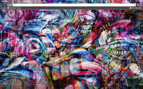 wall theme graffiti wall chrome web store
