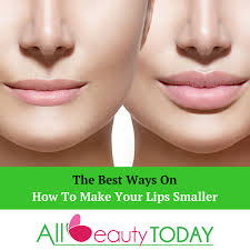 the best ways on how to make your lips smaller all beauty today