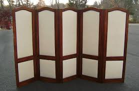 Retractable Room Divider Accentuate Improvement Folding Room Dividers Wood Frame