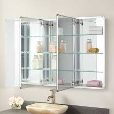 Furview Recessed Mount Medicine Cabinet Bathroom - Recessed medicine cabinet rough opening