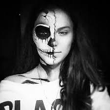 halloween makeup lexy uploaded by lexy2993 on we heart it