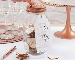 wedding wishes jar wedding wish jar etsy