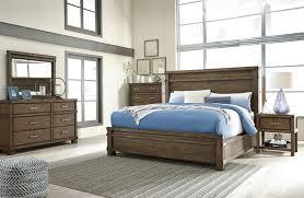 ashley king bedroom sets ashley leystone dark brown 4 piece eastern king panel bedroom set
