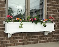 White Wall Planter by Amazon Com Mayne Fairfield 5824w Window Box Planter 5 Foot