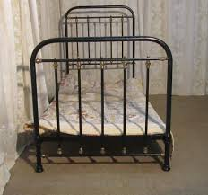 victorian single brass and iron black bed antiques atlas