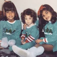 kim kardashian shares the 1986 version of her family u0027s 2015