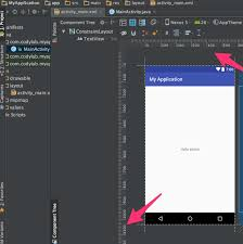 what is the unit of the ruler in android studio layout editor