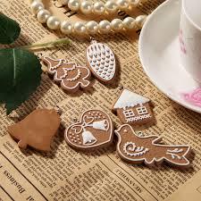 online shop 11pcs cartoon animal snowflake biscuits hanging