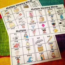 best 25 multiple meaning words ideas on pinterest meaning of