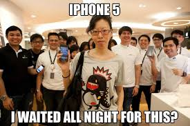 Iphone 5 Meme - cna captures the most unenthusiastic iphone 5 owner ever