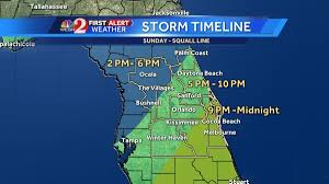 Bushnell Florida Map by Central Florida Residents Advised To Stay Alert As Severe Weather