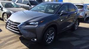used lexus suv for sale in nigeria new grey 2015 lexus nx 200t awd premium package review south
