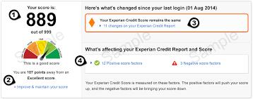 credit report samples