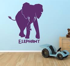15 zoo animal wall decals jungle zoo animal wall decals nursery home vinyl decals home decor decals zoo animal wall decals elephant