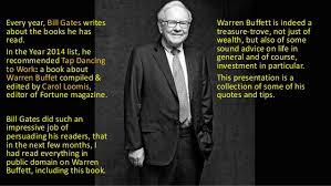 wisdom of warren buffett