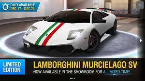 lamborghini murcielago racing racing rivals lamborghini murcielago sv