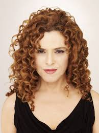 long layered haircuts for naturally curly hair curl perfection bernadette peters different from her normal