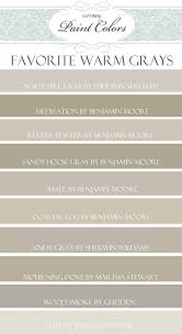 top 10 favorite warm gray paint colors by my favorite paint colors