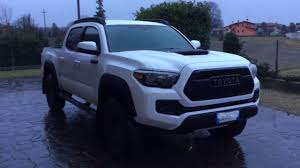 Roof Rack For Tacoma Double Cab by 2017 Toyota Tacoma Trd Pro New Goodies Youtube