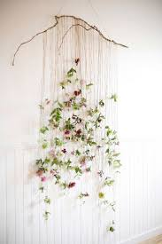 bohemian baby shower hanging flower wall fixture beautiful details for your bohemian