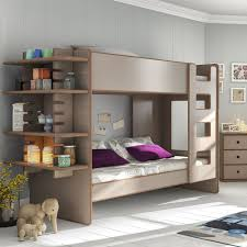very practical loft bed shelf modern loft beds