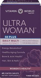 vitamins for hair over 50 ultra woman 50 plus multivitamins at vitamin world