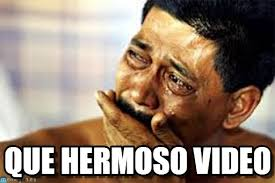 Meme Video - que hermoso video crying meme en memegen