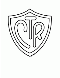 lds ctr coloring page ctr shield coloring page az pages inside