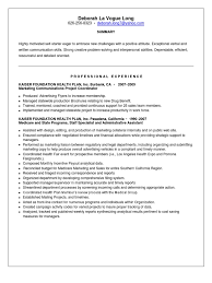 Cover Letter Project Coordinator Download Marketing Communications Project Coordinator In Pasadena