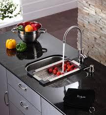over the sink colander kitchen accessory kraususa com