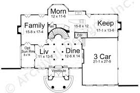 First Floor House Plan Hepplewhite Traditional House Plans Luxury House Plans