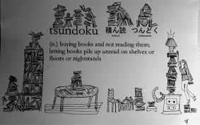 tsundoku illustrated definition of a book lover u0027s problem galleycat