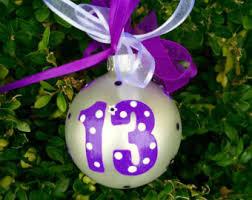 birthday ornament etsy