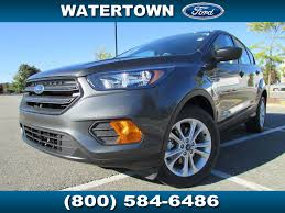 ford crossover escape 2018 new ford escape s fwd at watertown ford serving boston ma