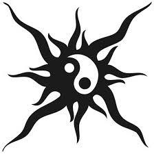 yin yang sun tattooforaweek temporary tattoos largest temporary